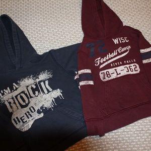 Set of boy's hoodies